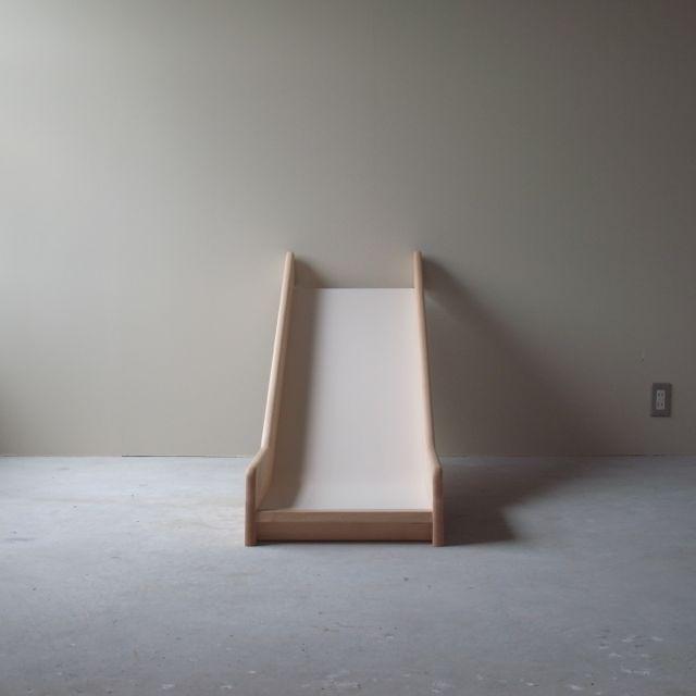滑り台 material : beech,melamin