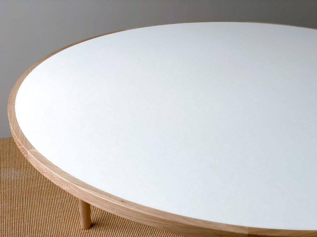 リノリウム 丸テーブル